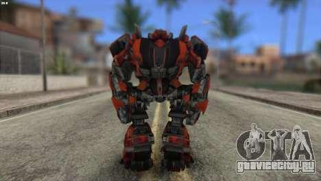 Autobot Titan Skin from Transformers для GTA San Andreas второй скриншот