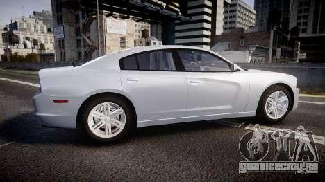 Dodge Charger Traffic Patrol Unit [ELS] bl для GTA 4 вид слева