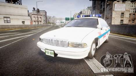 Chevrolet Caprice Chicago Police [ELS] для GTA 4