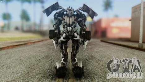 Sideswipe Skin from Transformers v2 для GTA San Andreas третий скриншот