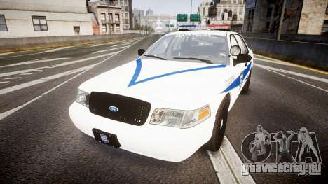 Ford Crown Victoria Indiana State Police [ELS] для GTA 4