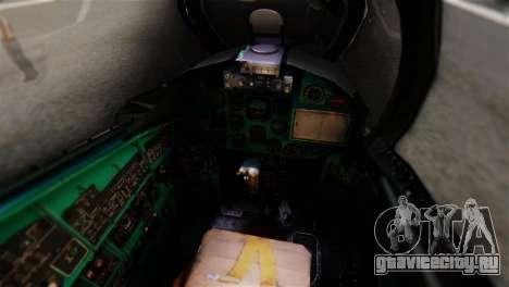 Mil Mi-24V Czech Air Force Tigermeet для GTA San Andreas вид сзади