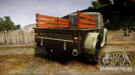 GTA V Bravado Rat-Loader для GTA 4 вид сзади слева