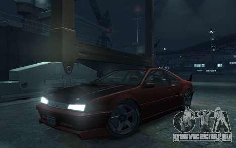 Vapid Fortune Drift для GTA 4 вид сзади слева