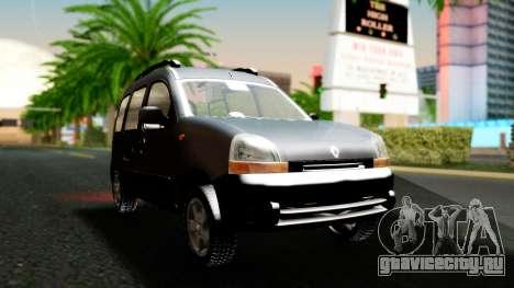 Renault Kangoo Sportway для GTA San Andreas