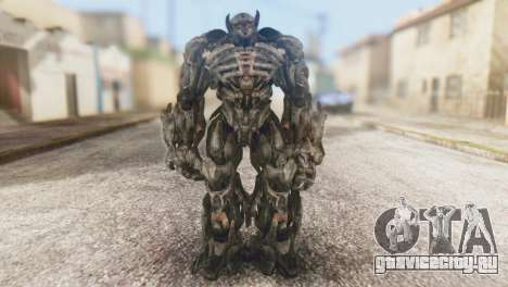 Shockwave Skin from Transformers v1 для GTA San Andreas второй скриншот