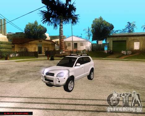 Hyundai Tucson для GTA San Andreas
