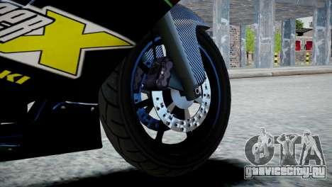 Bike Bati 2 HD Skin 3 для GTA 4 вид сзади слева