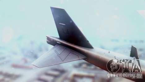 Boeing B-52H Stratofortress для GTA San Andreas вид сзади слева