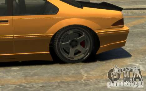 Vapid Fortune Drift для GTA 4 вид сбоку