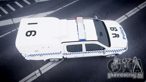 Toyota Hilux NSWPF [ELS] scoop для GTA 4 вид справа