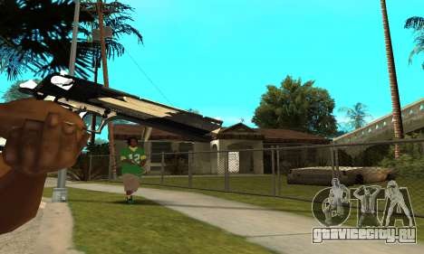 Two Lines Deagle для GTA San Andreas третий скриншот