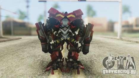 Ironhide Skin from Transformers v1 для GTA San Andreas третий скриншот