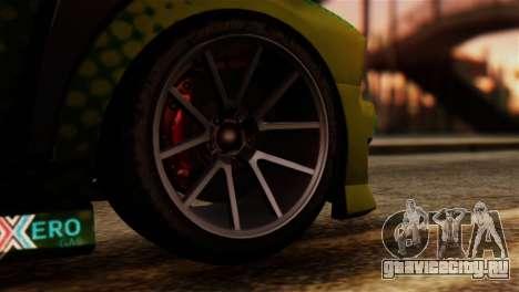 GTA 5 Bravado Buffalo Sprunk IVF для GTA San Andreas вид сзади слева
