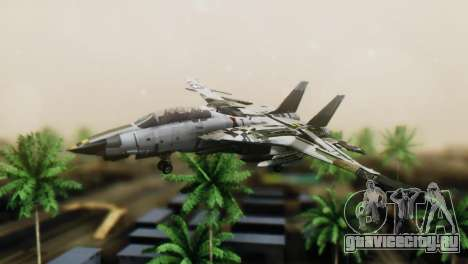 F-14D Super Tomcat VF-2 Bounty Hunters для GTA San Andreas