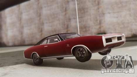 GTA 5 Imponte Dukes IVF для GTA San Andreas вид сзади