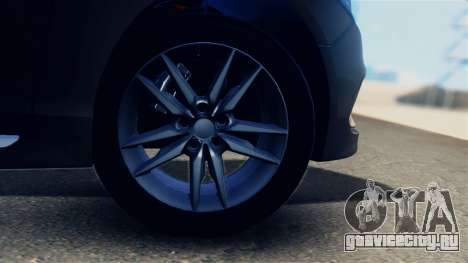 Hyundai Sonata 2015 для GTA San Andreas вид сзади