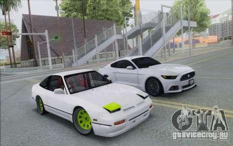 ENB Series Settings for Medium PC для GTA San Andreas второй скриншот