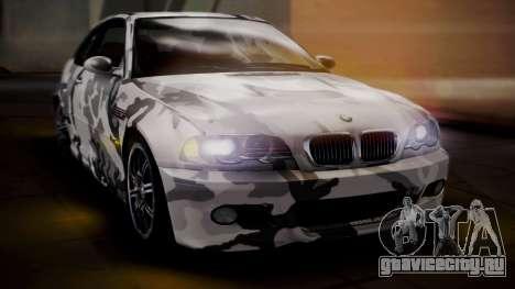 BMW M3 E46 v2 для GTA San Andreas двигатель