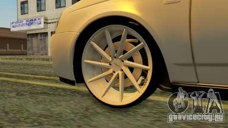 ВАЗ 2170 Italia для GTA San Andreas вид сзади слева