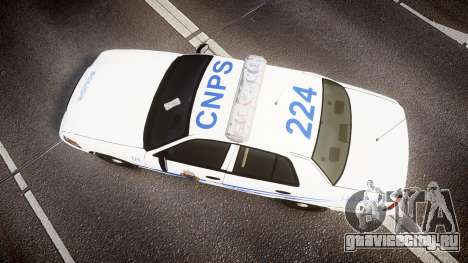 Ford Crown Victoria CNPS [ELS] для GTA 4 вид справа