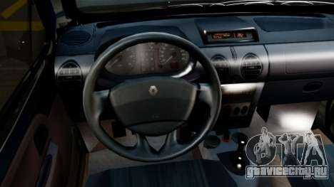Renault Kangoo Sportway для GTA San Andreas вид справа