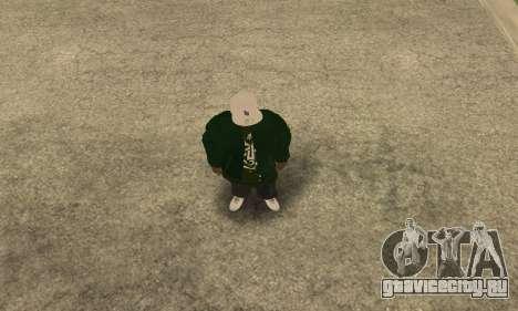 Groove St. Nigga Skin First для GTA San Andreas второй скриншот