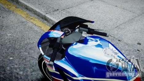 Bike Bati 2 HD Skin 2 для GTA 4 вид справа