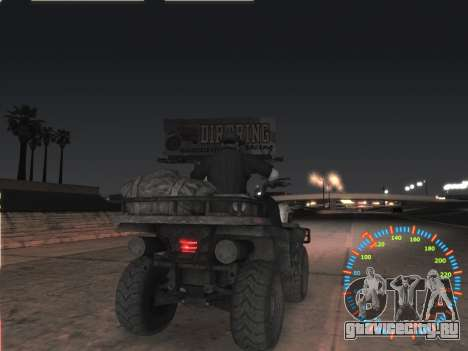Простой спидометр для GTA San Andreas пятый скриншот