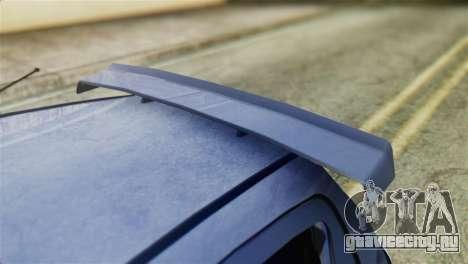 Toyota Aygo Sporting для GTA San Andreas вид сзади