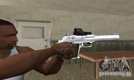 Tiger Deagle для GTA San Andreas второй скриншот