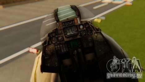 F-14A Tomcat VF-202 Superheats для GTA San Andreas вид сзади