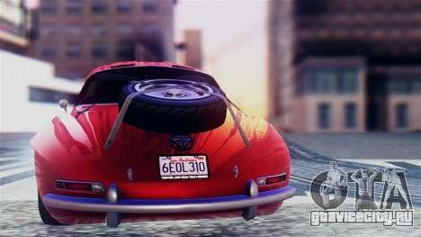 GTA 5 Benefactor Stirling GT для GTA San Andreas вид справа