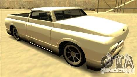 Slamvan Final для GTA San Andreas вид сбоку