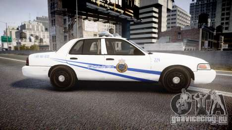 Ford Crown Victoria CNPS [ELS] для GTA 4 вид слева