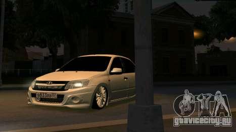 ВАЗ 2190 Sport для GTA San Andreas вид справа