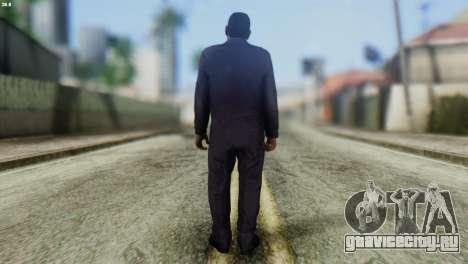 Uborshik Skin from GTA 5 для GTA San Andreas второй скриншот