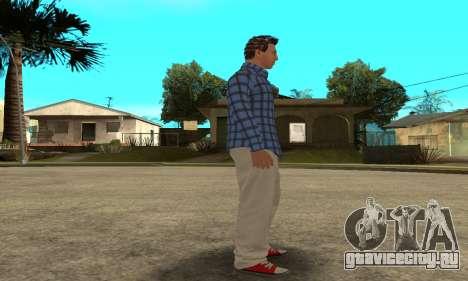 Skin Claude [HD] для GTA San Andreas седьмой скриншот