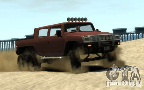 Mammoth Patriot 6x6 для GTA 4
