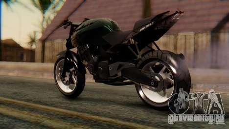 Bajaj Rouser 135 Stunt для GTA San Andreas вид слева