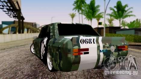 Peykan Javanan Drift для GTA San Andreas вид слева