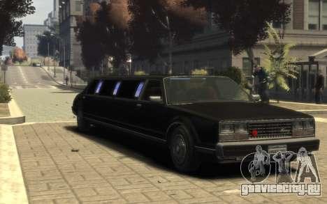 Albany Esperanto Limousine для GTA 4
