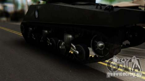 M4 Sherman Gawai Special для GTA San Andreas вид сзади слева