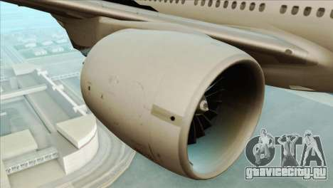 B777-200ER Air New Zealand Black Tail Livery для GTA San Andreas вид справа