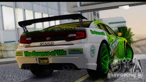 GTA 5 Bravado Buffalo S Sprunk для GTA San Andreas вид слева