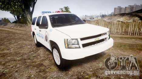 Chevrolet Tahoe Metropolitan Police [ELS] для GTA 4