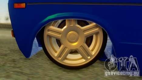 ВАЗ 2106 Хамелеон для GTA San Andreas вид сзади слева