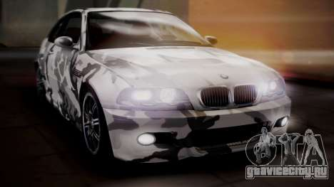 BMW M3 E46 v2 для GTA San Andreas колёса