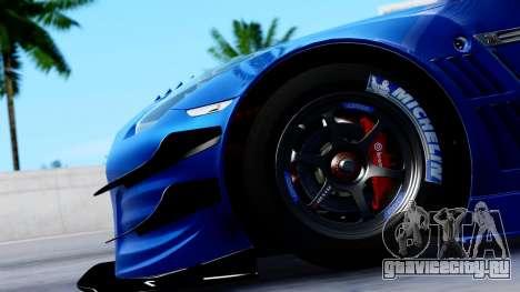 Nissan GT-R (R35) GT3 2012 PJ2 для GTA San Andreas вид сзади
