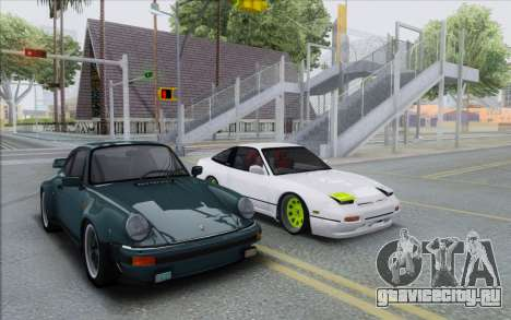 ENB Series Settings for Medium PC для GTA San Andreas